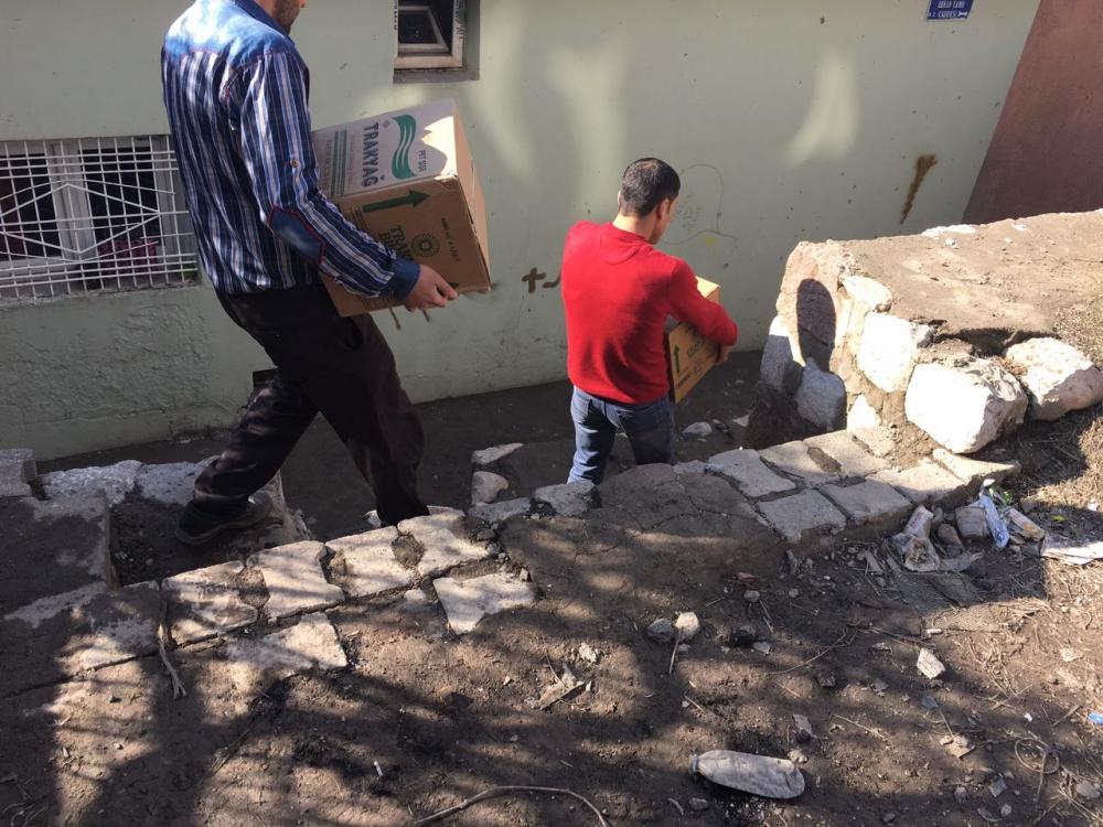 Öze Dönüş hareketi bileşenlerinden Şırnak'taki kardeşlerimize yardım 8