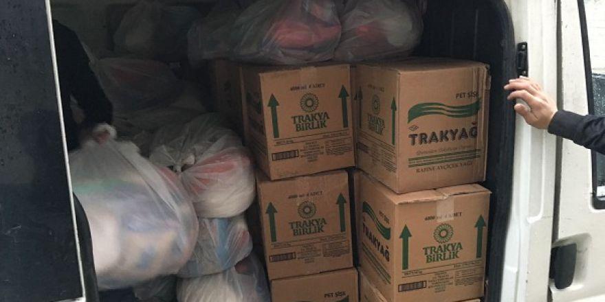 Öze Dönüş hareketi bileşenlerinden Şırnak'taki kardeşlerimize yardım