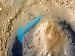 Mars'ta hayat varmış
