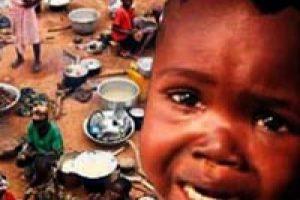 Orta Afrika kıtlıkla karşı karşıya