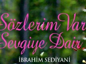 """Sediyani'den yeni kitap: """"Sözlerim Var Sevgiye Dair"""""""