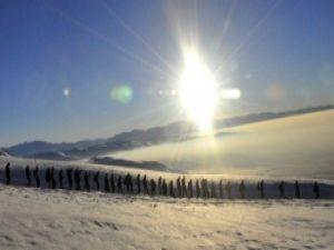 Roboskî'ye adalet için Erek dağına çıktılar