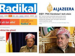 El Cezire ve Radikal'in Barzani Manipülasyonu