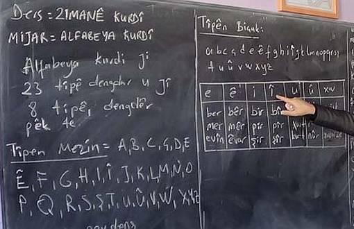 Anadili Günü'nde Kürtçe Ders Veren Öğretmenlere Takibat