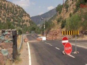 Tunceli - Erzincan yolu açıldı