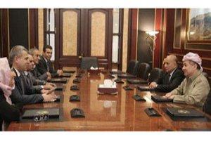 Barzani ENKS ile görüştü