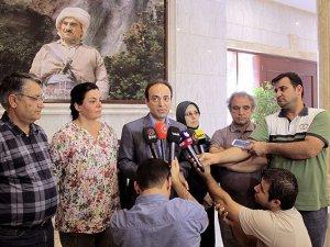 HDP heyeti Barzani'den destek istedi