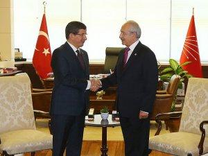 Davutoğlu ile Kılıçdaroğlu yarın bir araya geliyor