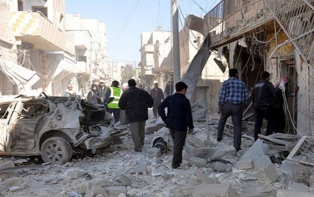 Halep'te toplu mezar