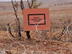 Türkiye'de yer altında, 1 milyon 101 bin 389 mayın var!