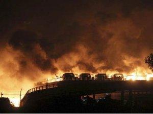 Çin'de kimyasal patlama: En az 50 ölü