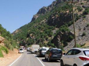 Tunceli- Erzincan karayolu ulaşıma açıldı