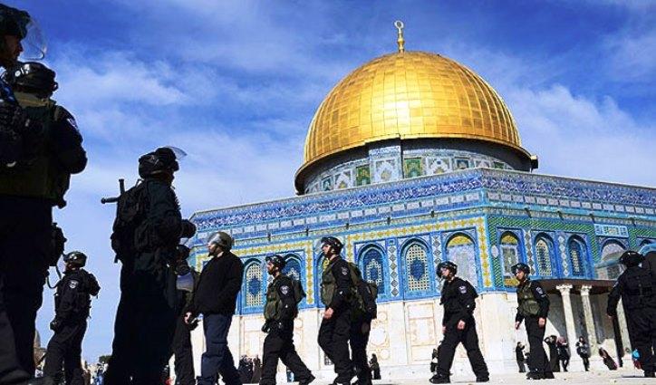 Kudüs'te ezan sesini kısma girişimi