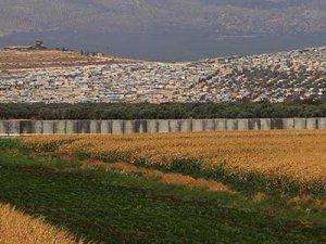 Suriye sınırına 8 km'lik duvar