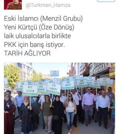Hamza Türkmen Öze Dönüş'ü hedef gösterdi