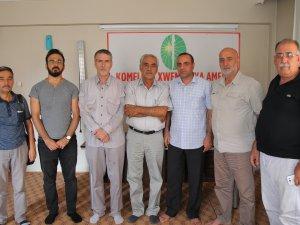 """Diyarbakır""""da Kürdistani Parti ve Örgütler Öze Dönüş Hareketini Ziyaret Etti"""