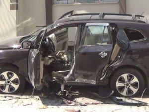 Antakya'da Esad muhalifi komutanlardan Cemil Radun'a  bombalı saldırı