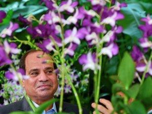 Sisi Singapur'da 'çiçek açtı'