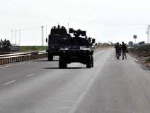 Mardin'de polis aracına saldırı