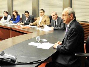 Kılıçdaroğlu CHP'li Vekillerden Veto Yedi