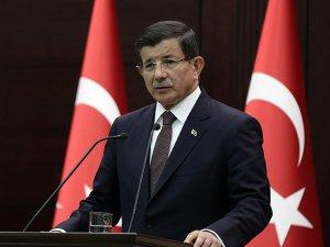 Başbakan Davutoğlu Van'a gitti