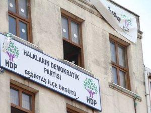 HDP Beşiktaş İlçe Başkanlığı'nda yangın çıktı