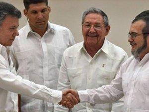 FARC ile Kolombiya devleti nihai barışta anlaştı