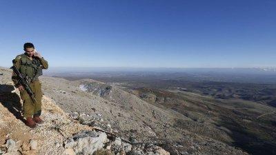 İsrail Golan gerekçesiyle Suriye'yi yine vurdu