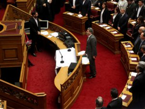 Yunanistan parlamentosunda Kur'an-ı Kerim'li yemin