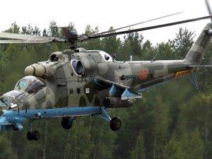 Rusya'nın IŞİD'i vurduğu üs Mil Mi-24'lerle korunuyor