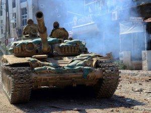Suriye ordusu kara operasyonu başlattı