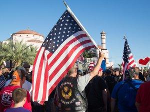 ABD'de İslam karşıtı gösteriler ilgi görmedi