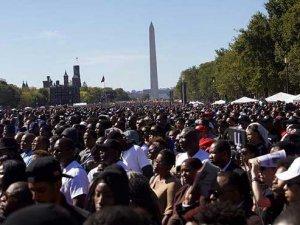 ABD'de siyahilerden büyük miting