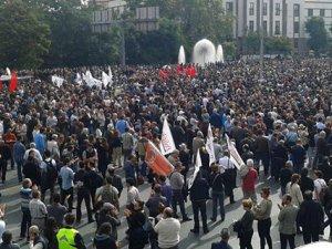 Ankara'da Yas Günü! Binlerce Kişi Sıhhiye'de Toplandı