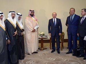 S. Arabistan ve Rusya'dan Suriye buluşması