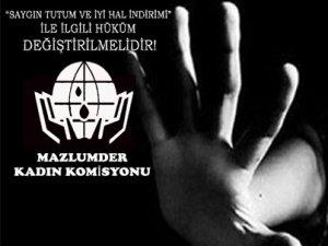 """""""SAYGIN TUTUM VE İYİ HAL İNDİRİMİ"""" ile ilgili Hüküm Değiştirilmelidir!"""