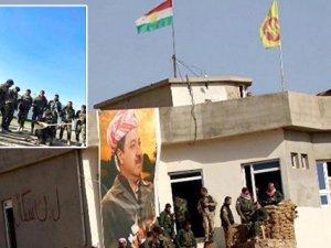 Şengal'de Kürdistan bayrağı dalgalanıyor