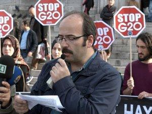 KÜRESEL KORSANLIK DÜZENİNE HAYIR! G20, ANTALYA'DAN DEFOL!