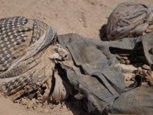 Di du gorên komî de termê 130 Kurdên Êzdî hate dîtin