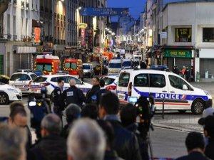 Paris'te polisin operasyon düzenlediği kadın terörist üzerindeki bombayı patlattı