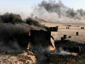 Pentagon: IŞİD'in 238 petrol tankeri imha edildi