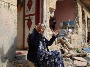 14 günlük sokağa çıkma yasağından sonra Nusaybin'deki yıkımdan kareler