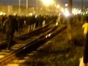 Bayrampaşa'da patlama: Metro seferleri durduruldu