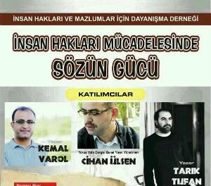 """Panel: """"İnsan Hakları Mücadelesi'nde Sözün Gücü"""""""