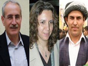 BDP'li üç vekil daha tahliye edildi