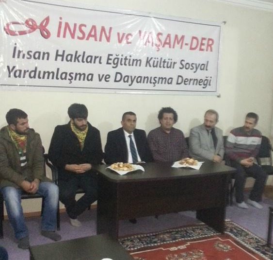 BDP'den Muş İnsan ve Yaşam-Der'e Ziyaret