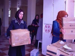Helebceli kadınlar Rojavalı Kürdlere yardım ediyor
