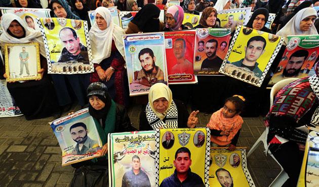 Filistinli tutuklulara iki yıl sonra görüş izni