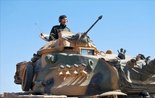 Türkiye - Suriye sınırında eller tetikte