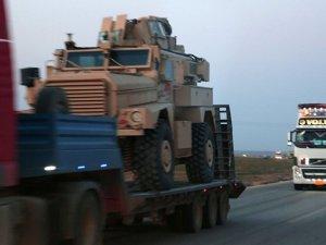 ABD'nin YPG'ye zırhlı araç sevkiyatı görüntülendi